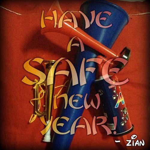 Zian's Vuvuzela & Pump Horn. Safe way to celebrate new year. Vuvuzela Horn NewYear