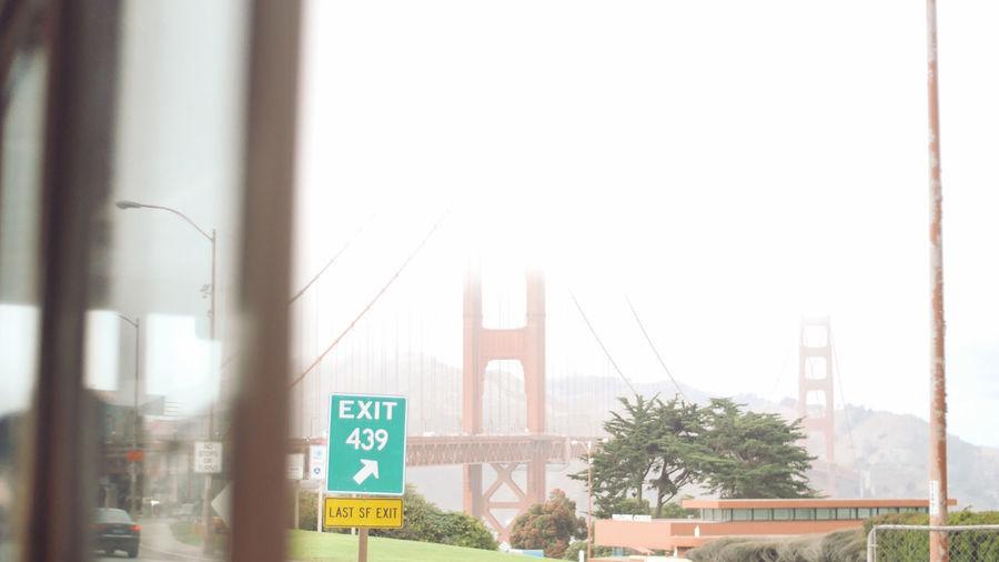 Golden Gate Bridge Jorney In The Fog Tram Journey Missinghome Misty Morning Roadtrip Travel Destinations