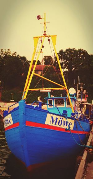 Fishing Boat Fishermen Harbour View Harbour Ostsee! Ostsee2015 I Love Ostsee ❤️ Sassnitz Things That Are Blue The Places I've Been Today