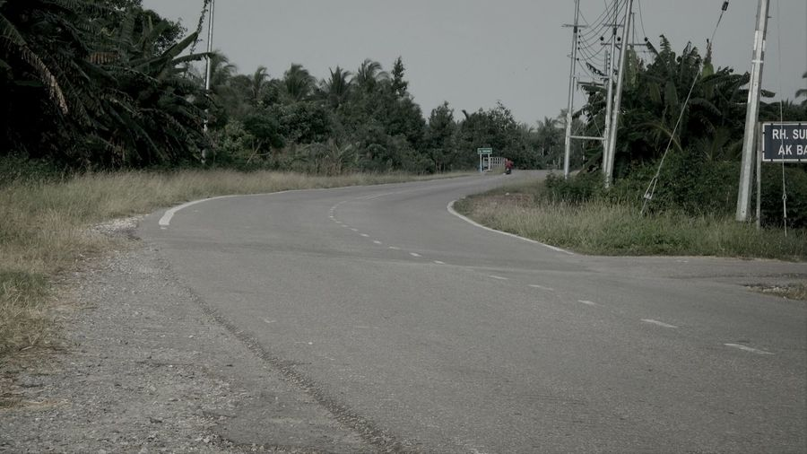 A lonely road Road On The Road