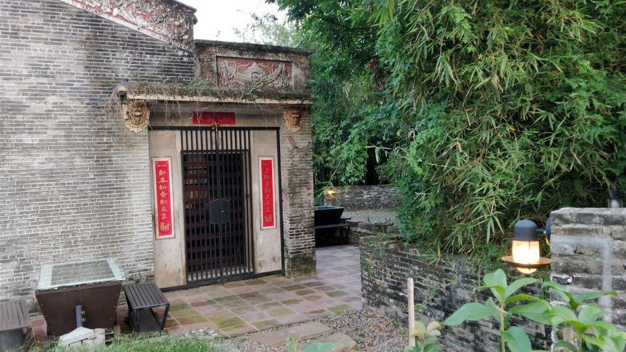 乡村古民居(3) 家居 乡村 民俗 EyeEm Selects Tree Red House Door Architecture Building Exterior Built Structure Plant