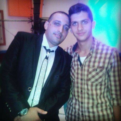 مع عريس الليلة Mr.Mohamad Saad Wedding Party today