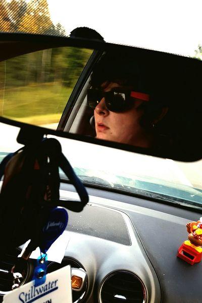 Self Portrait Around The World Long Drives Driving New Hampshire Maine Self Portrait