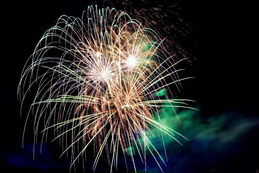 Feu D'artifices Feu D'artifice 14 Juillet 2017 Les Gets Fireworks