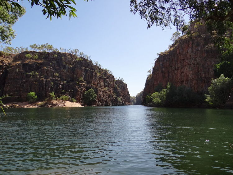 Butterfly Gorge, Nitmiluk National Park, Katherine, Northern Territory, Australia Australia Australian Australian Landscape Kakadu National Park Katherine Katherine Gorge Katherine NT Australia Nitmiluk National Park Northern Territory Beauty In Nature Butterfly Gorge Clear Sky Cliff Day Katherine National Park Nature Nitmiluk No People Outdoors Plant River Rock Rock Formation Scenics - Nature Sky Tranquil Scene Tranquility Tree Water Waterfront