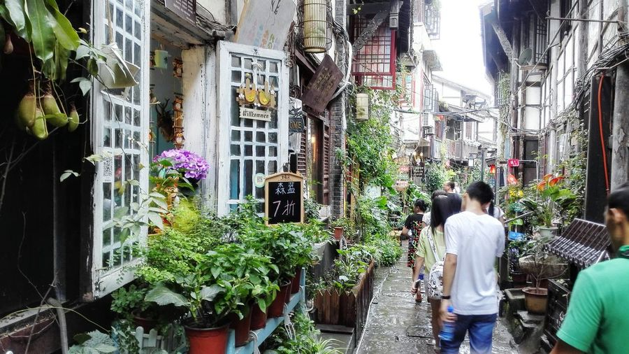 Old Town Historical Place Laneways Chongqing China Cultural Heritage Innovation&Creative