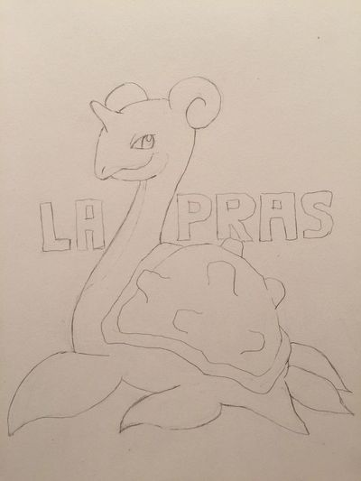 MyDrawing Outline Pokémon ポケモン Illustration Hanging Out Check This Out LAPRAS ラプラス