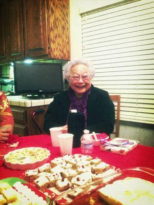 My gorgeous wonderful lively inspirational great grandma. <3