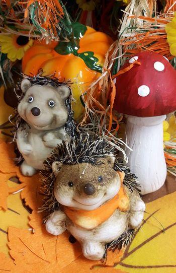 Lustige Dekoration für den Herbst Herbstdekoration