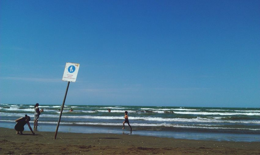 Sea At The Sea