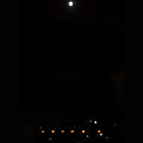 Bedroom view! Day1 SharadPoonam Fullmoon Bokeh Xiaomimi4 NoEdits  Cityscape Citylights