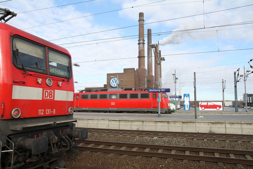 Autostadt Day Germany Industry Outdoors Railroad Track Sky Transportation Volkswagen
