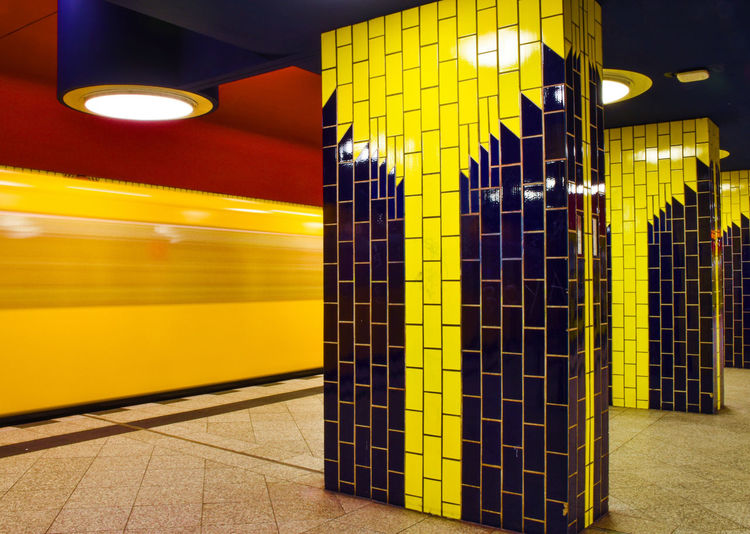 Colorful Subway
