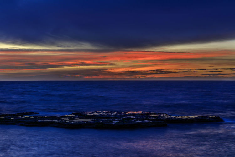 Nature Sweden Tranquility Water And Rocks Water And Sky Blue Water Coast Colorful Colorful Sky No People Sunset Öland