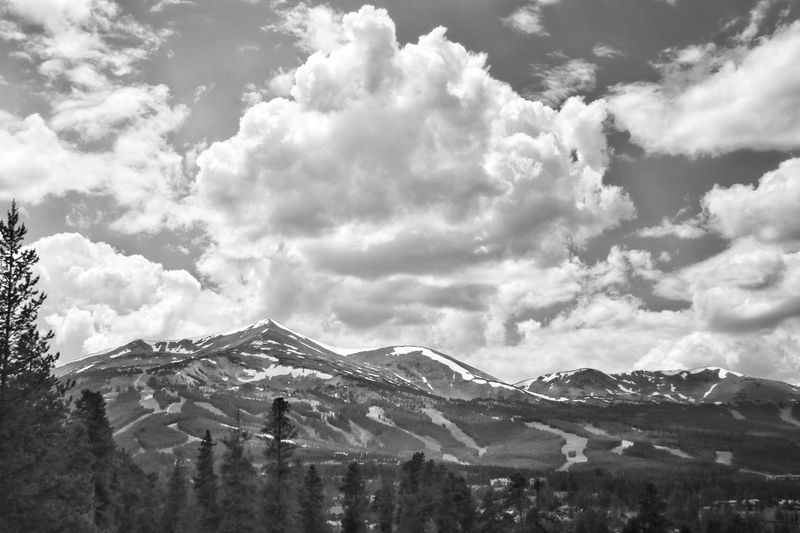 """""""In the presence of eternity, the mountains are as transient as the clouds."""" Cloud - Sky Scenics Nature Landscape Beauty In Nature Mountain Outdoors Colorado Coloradophotographer Ladyphotographerofthemonth Photography Photooftheday Black&white Black And White Photography Black And White Blackandwhite Blackandwhitephotography Low Angle View Beauty In Nature Tranquility Cloud Clouds And Sky Cloudy Cloudporn"""