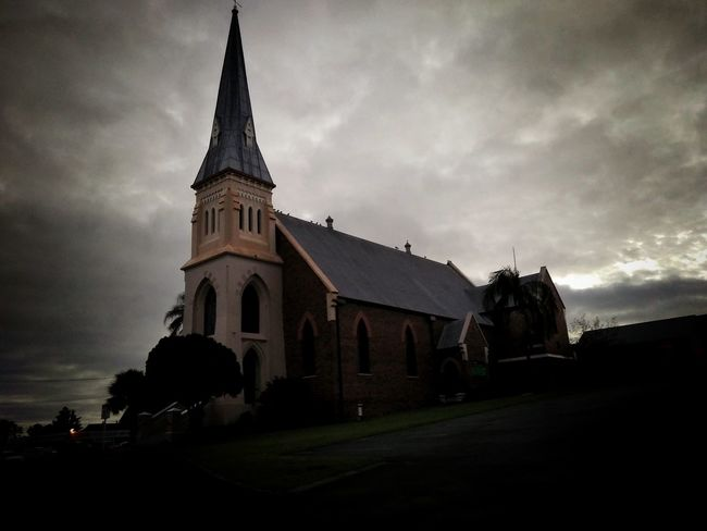 Church Architecture Religion History Spirituality Place Of Worship Outdoors Landscape Sky Cloudy Building Exterior Cloud - Sky No People Travel Destinations Day Morning
