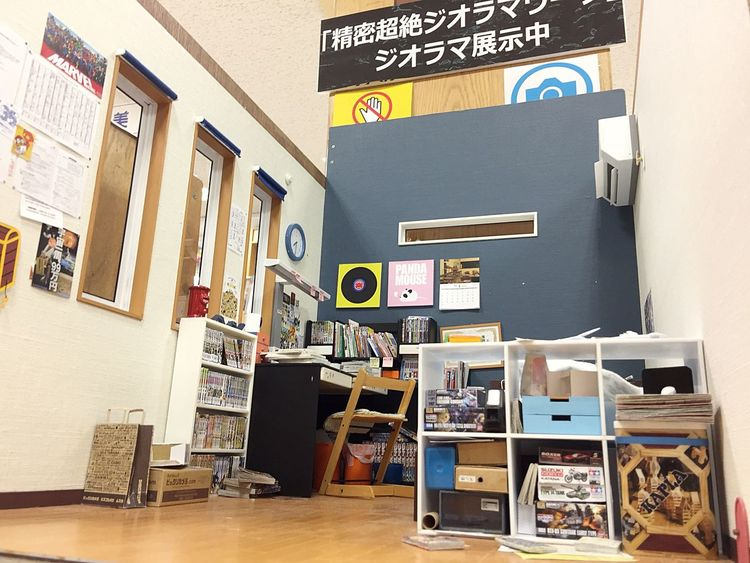 2017.11.07 新宿紀伊國屋書店本店 7F MOZU ジオラマ 猫目線