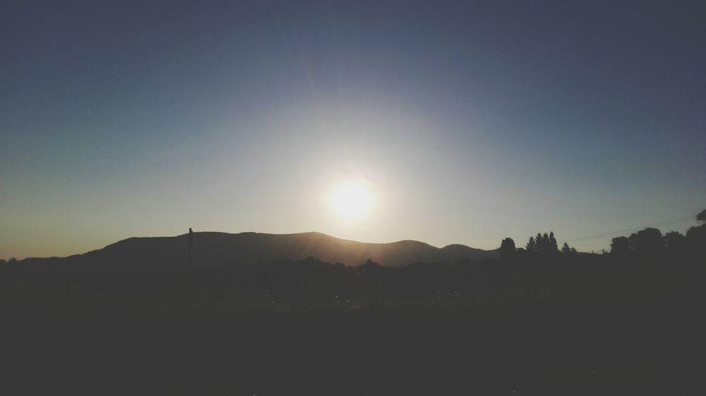 Sunrise Beskydy Czech Republic