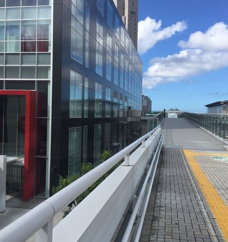 Chiba City Architecture Built Structure City Modern Day Clouds And Sky Reflection Japan Chiba Travel Nopeople