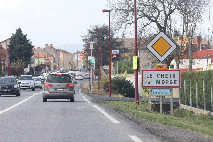 Panneau Village L'auvergne Auvergne