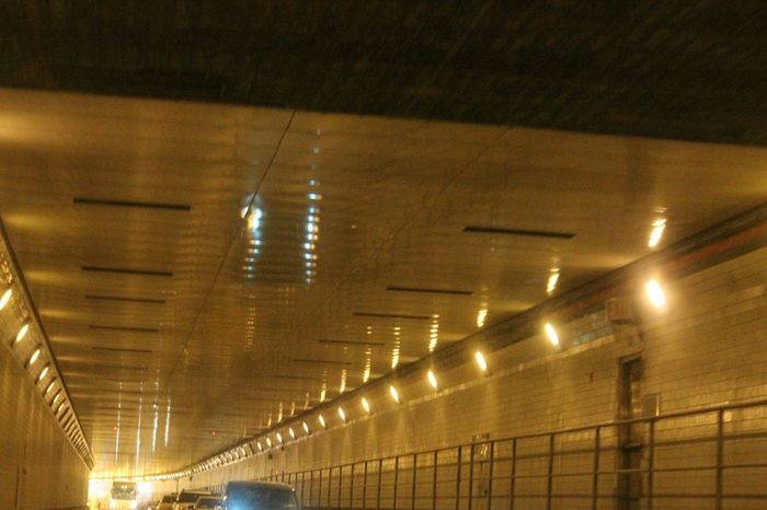 City Life Travel Photography Newyorkcitytaxi Tunnel NYC CAB Newyork Lincoln Tunnel Concrete