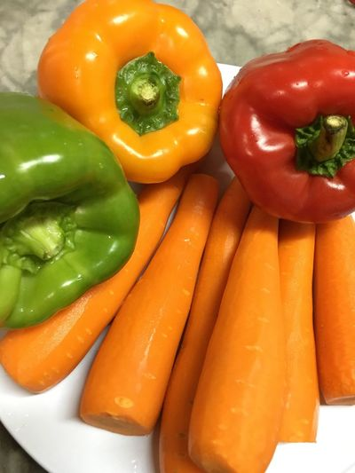 EyeEmNewHere Fresh produce Vegetable Freshness Food And Drink Red Bell Pepper Close-up Healthy Eating Healthy Cooking