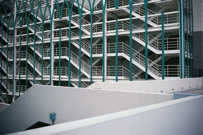 Modern building in city