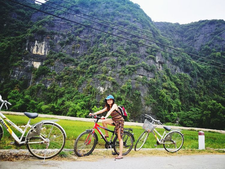 Chilling Bicycle Cycling Outdoors Only Women Healthy Lifestyle Nature Tourism Happiness On Simplicity Love Photograph Me, My Camera And I