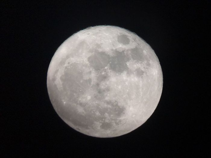 Christmas 2015 Full Moon. Astrophotography Astronomy Fullmoon Celestron Iphone6splus Iphonography Iphonephotography