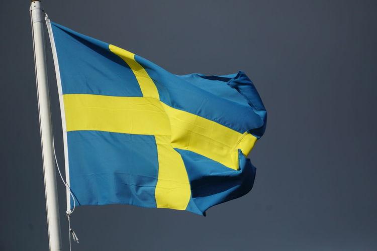 Flag No People Köpmanholmen Örnsköldsvik Sweden Day Outdoors