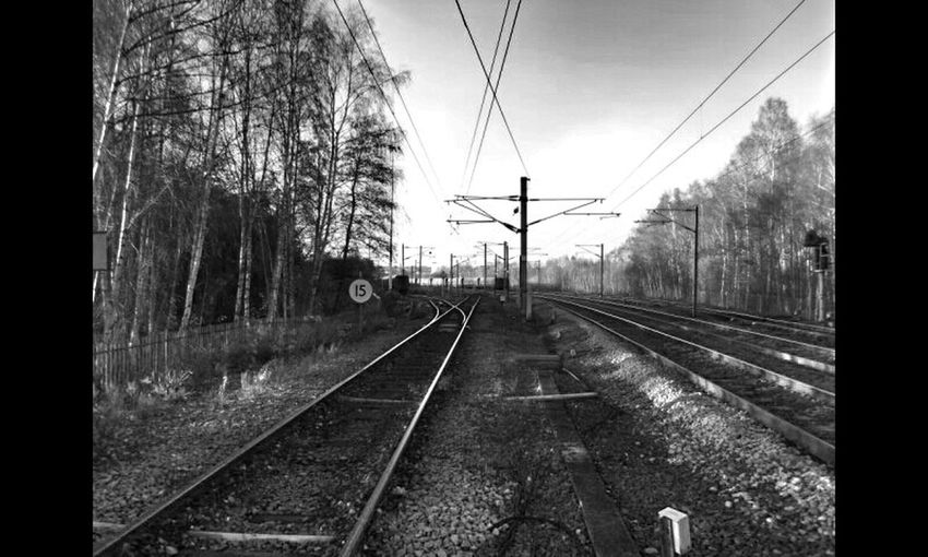 Blackandwhite Perspectives Railroad Monochrome Railway Fortheloveofblackandwhite Eye4photography