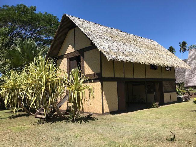 Gauguin's House - La Maison du jouir Museum Marquesas Islands Hiva Oa Atuona Gauguin Gauguin's House La Maison Du Jouir Architecture Built Structure Plant Building Exterior Sky Building Sunlight