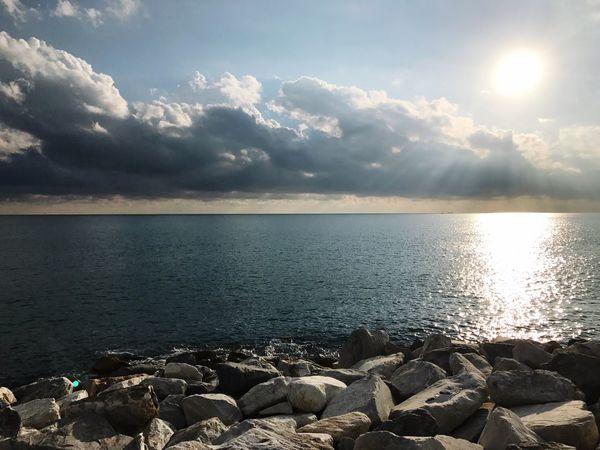Sea Scogliera Mare First Eyeem Photo