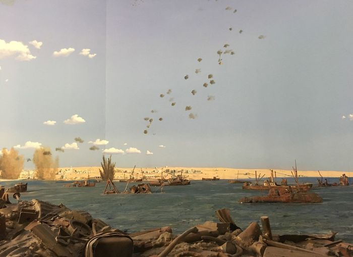 Diorama of war Sea Large Group Of Animals Nature Water Bird Sky Flock Of Birds Animal Themes Beauty In Nature Outdoors Flying Horizon Over Water Day No People Beach Scenics Scenery Nautical Vessel The Photojournalist - 2017 EyeEm Awards