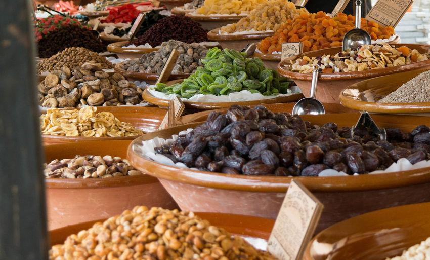 Full frame shot of market stall for sale