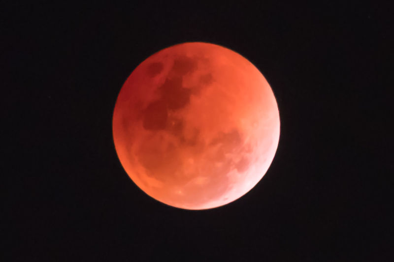 super blue blood moon at night science Is a natural phenomenon that happened on universe Moon Blood Sky Lunar Backgrounds Dark Beautiful Nature Full Moon Black Super Red Abstract Light Bright Shiny Star Night Science Twilight Universe Astronomy Moonlight Eclipse Round Glowing Sphere Planet Orbit Silhouette Shadow Astrology Telescope Celestial Natural Detail Surface Satellite Cloud Concept Architecture Circle Moon Surface Beauty In Nature Outdoors No People Scenics - Nature Planetary Moon