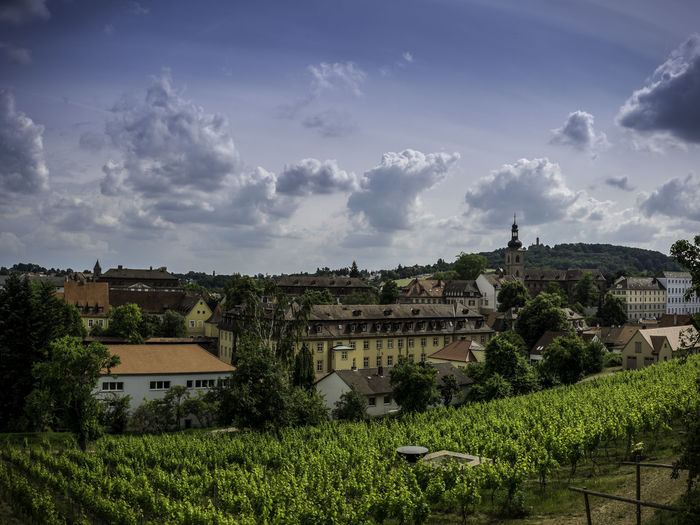 View Of Bamberg Against Sky
