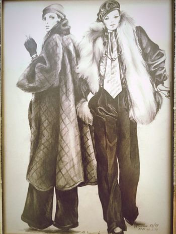 Madeleine Blackandwhite Painting Mode Art Malen Zeichnung  Zeichnen Kunst Künstler Fashion IPhoneography Gallery