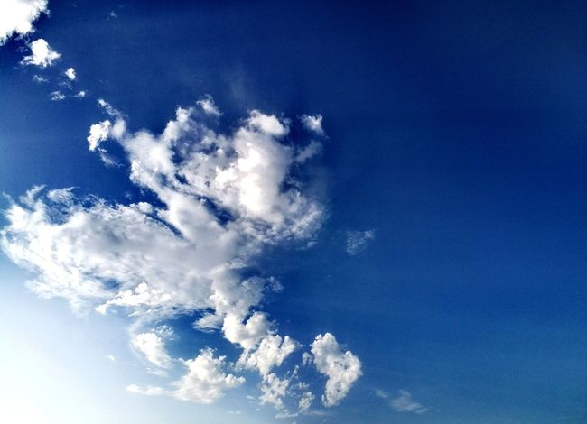 Blue Sky Cloud - Sky Nature Sky Only Beauty In Nature Landscape Lumiere Du Jour⛅