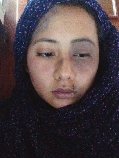 Una palabra no dice nada y al mismo tiempo lo esconde todo No More Violence Dont Cover It Up Makeup