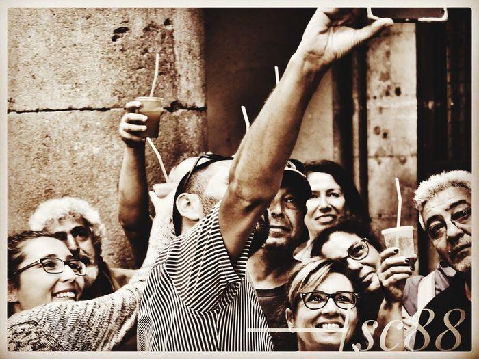 People Photography Selphie Espagne 🇪🇸 Portrait De Groupe