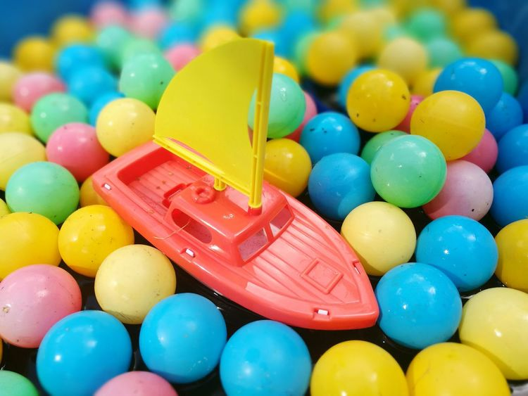 Colours Multi Colored Vibrant Color Colorful Colours Colour Palette Full Frame Abstract Water Boating Lake Boat Toy Boat On Pond. First Eyeem Photo