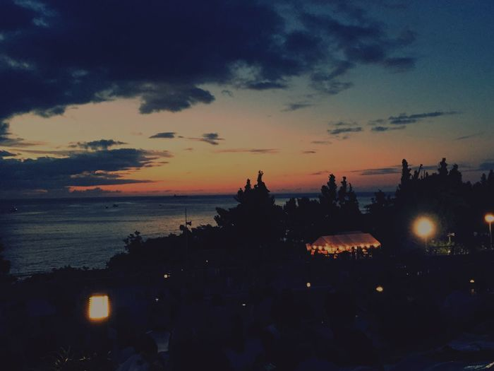 Sunset Okinawa Japan