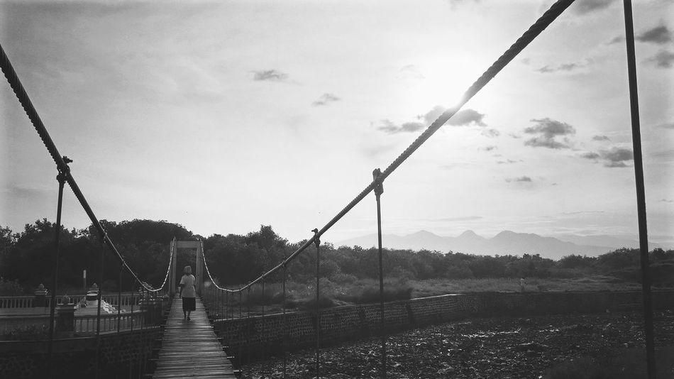 """ bridge to no-where :) _ flic.kr/p/SyhGuU _ Bridge View Bridge Photography Bridge Railing Bridge To Nowhere Bridge Over Water Bridge - Man Made Structure Outdoors Connection Bridge Architecture The Street Photographer - 2017 EyeEm Awards Live For The Story"
