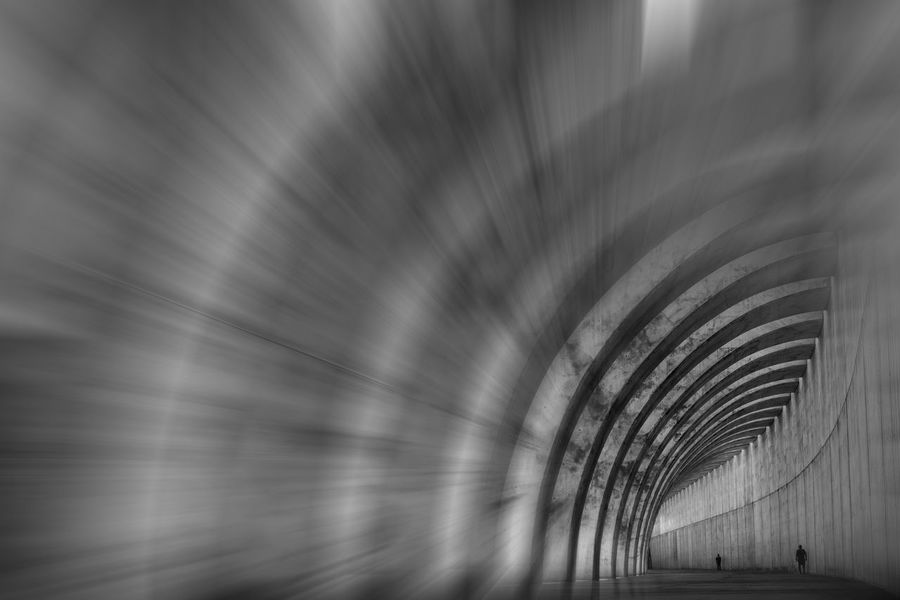 Monochrome Sony A7r Sonyphotography Tazacorte La Palma, Canarias Architecture Sky Tunnel Light At The End Of The Tunnel Diminishing Perspective The Way Forward Arch