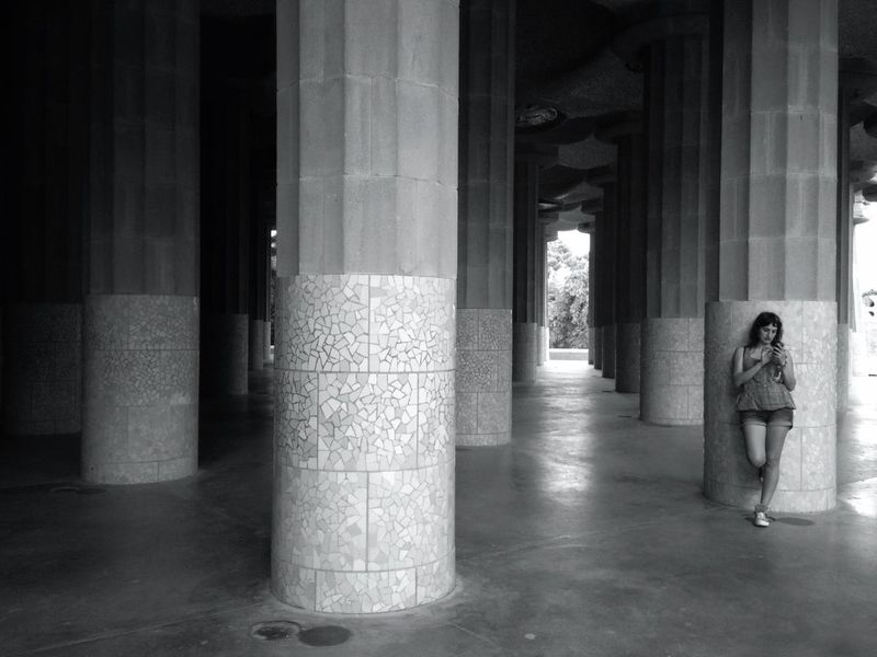 Streetphotography AMPt_community Blackandwhite Barcelona She...