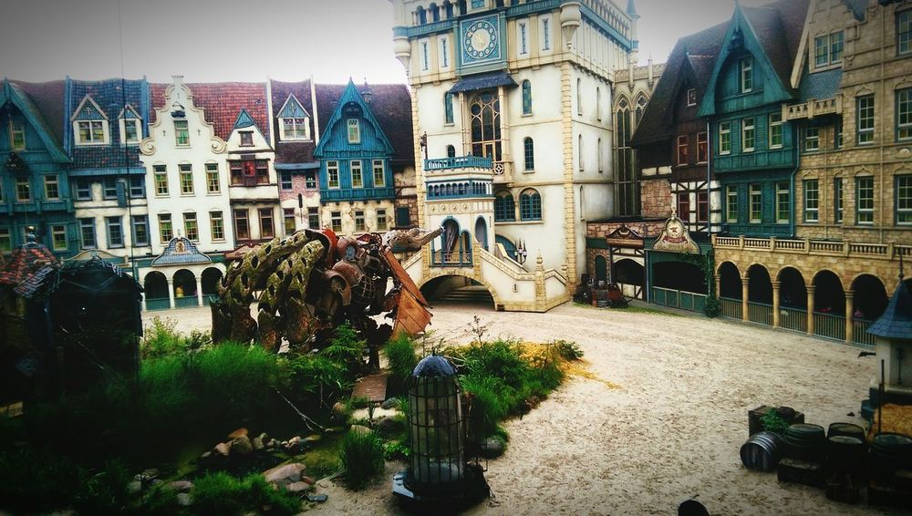 Fairy tale off raveleijn @ the Efteling. Stories, Fables & Fairytales Old Buildings Theme Park