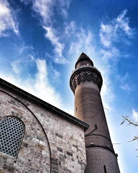 Mosque Sky Cloud - Sky Day Bursa / Turkey Ulucamii Turistic Minaret Minaret Mosque Perfect Beutiful  City 😚 Turkey💕