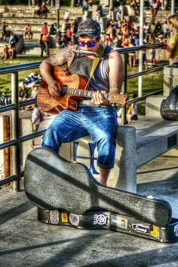 would love to listen the music of your heart... ❤ HDR Street Photography EyeEm Best Edits this awesome pic belong to @bloodshot Thankss so much Mikeee :) for all :)