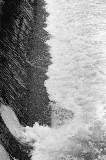 35mm Film Analogue Photography Beauty In Nature Blackandwhite Nature No People Outdoors Rippled Water Water Surface Waterfall